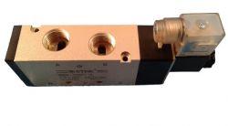 10744 - VALVULA 5/2 1/2 SOL + BOB 24VCC LED - TG25