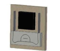 2288 - FACA PARA ALCA COM BLOCK 250 MM